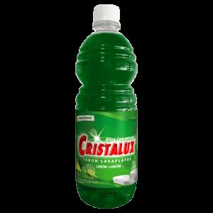 Lavaplatos Líquido Cristalux® Limón 1 Litro