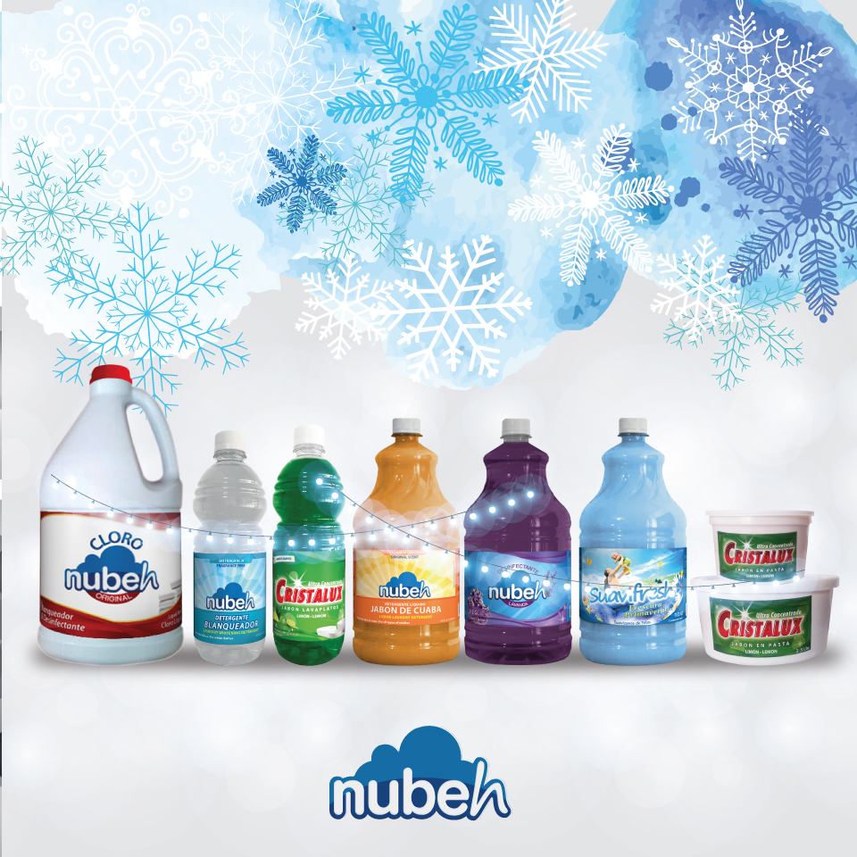Navidad con nieve  -  Nubeh