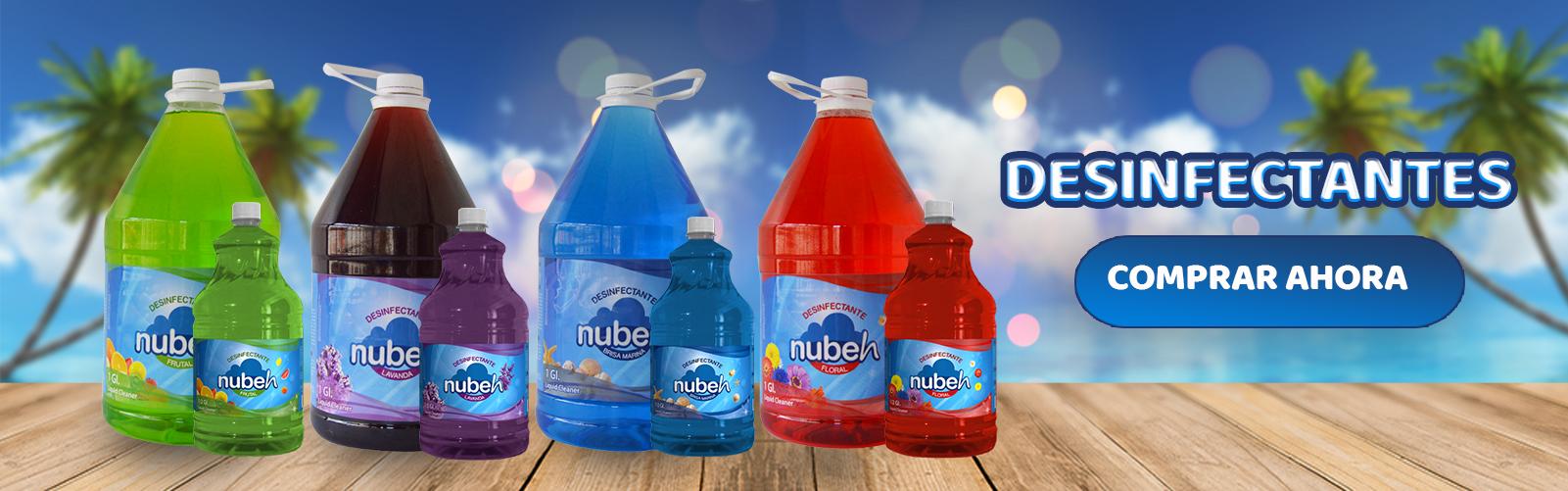 Desinfectante de pisos  -  Nubeh