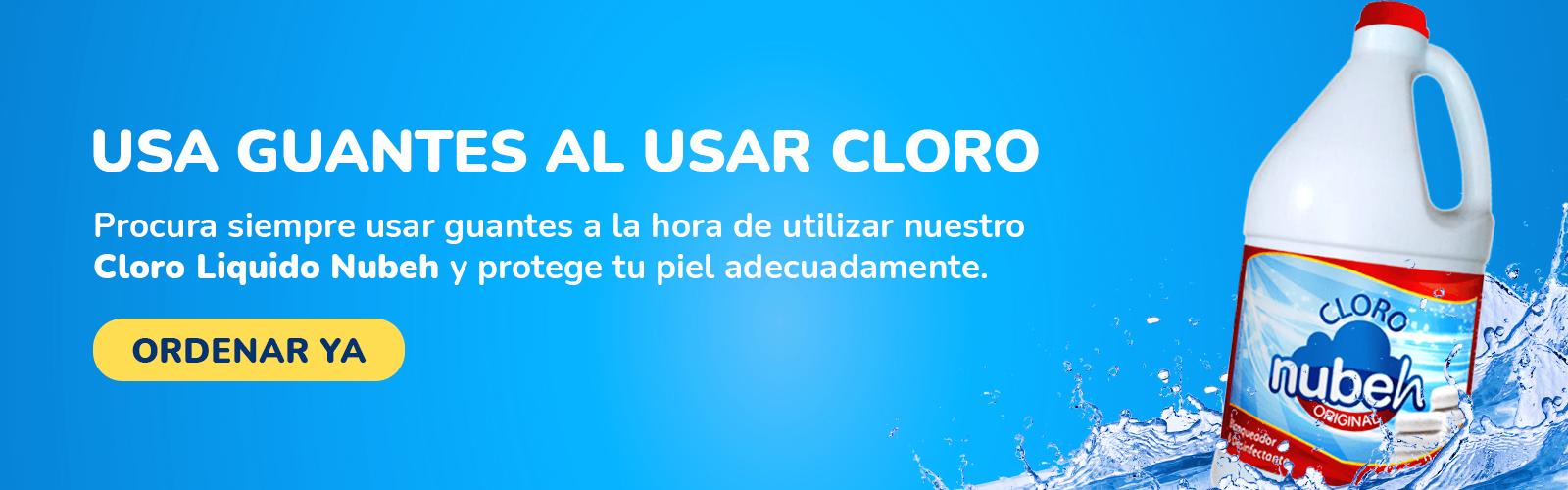 Cloro Líquido Nubeh 1 Galón  -  Nubeh